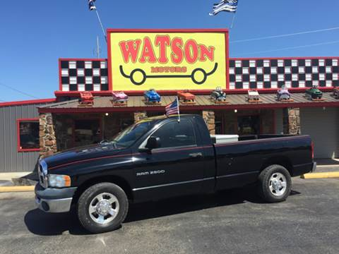 2004 Dodge Ram Pickup 2500 for sale at Watson Motors in Poteau OK