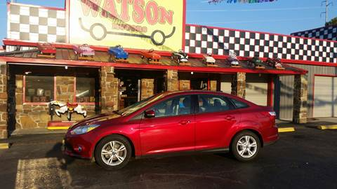 2013 Ford Focus for sale at Watson Motors in Poteau OK