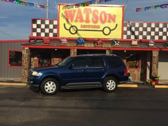 2004 Lincoln Aviator AWD Luxury 4dr SUV - Poteau OK