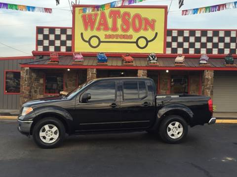 2006 Nissan Frontier for sale at Watson Motors in Poteau OK