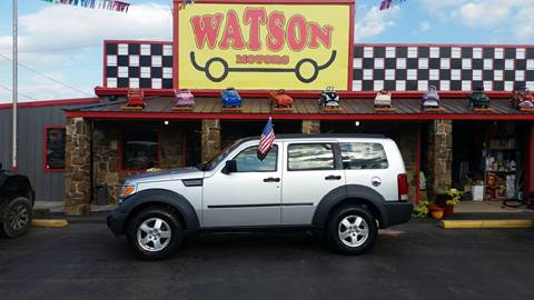 2007 Dodge Nitro for sale at Watson Motors in Poteau OK