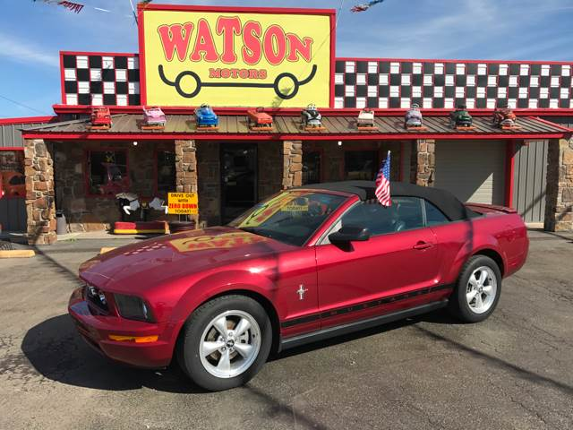 2007 Ford Mustang V6 Deluxe 2dr Convertible - Poteau OK
