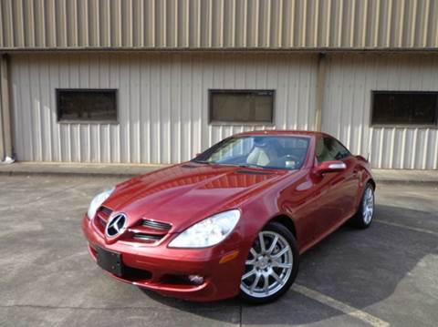2006 Mercedes-Benz SLK for sale at M & A Motors LLC in Marietta GA