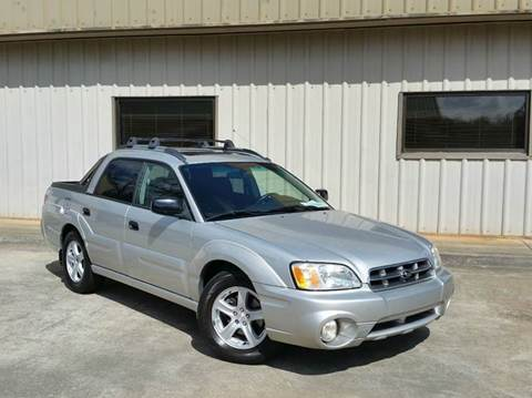 2003 Subaru Baja for sale at M & A Motors LLC in Marietta GA
