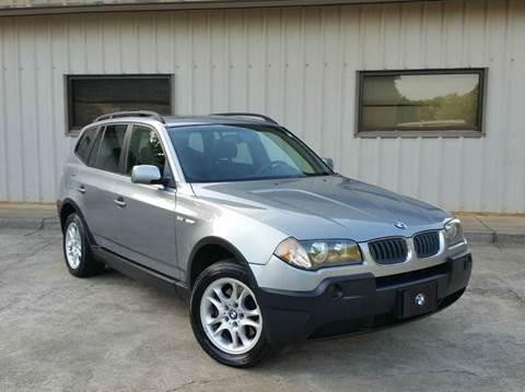 2005 BMW X3 for sale at M & A Motors LLC in Marietta GA