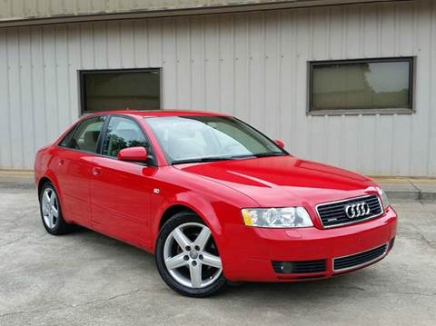 2005 Audi A4 for sale at M & A Motors LLC in Marietta GA