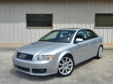 2004 Audi A4 for sale at M & A Motors LLC in Marietta GA