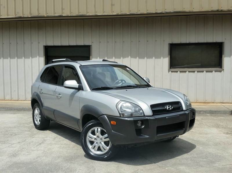2008 Hyundai Tucson for sale at M & A Motors LLC in Marietta GA