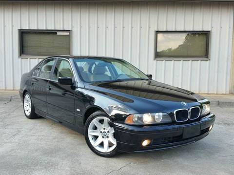 2003 BMW 5 Series for sale at M & A Motors LLC in Marietta GA