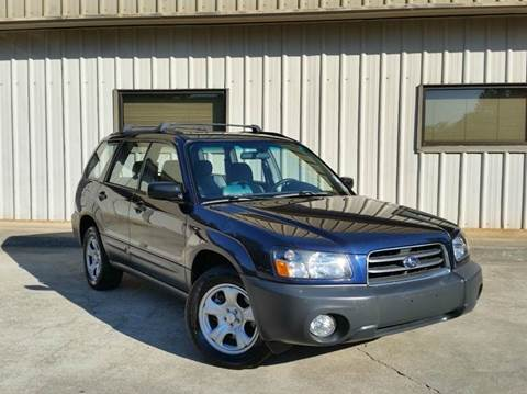 2005 Subaru Forester for sale at M & A Motors LLC in Marietta GA