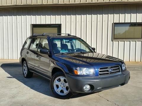 2005 Subaru Forester for sale at M & A Motors LLC in Marietta GA