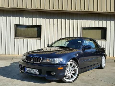 2006 BMW 3 Series for sale at M & A Motors LLC in Marietta GA