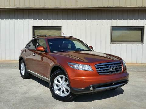 2006 Infiniti FX35 for sale at M & A Motors LLC in Marietta GA