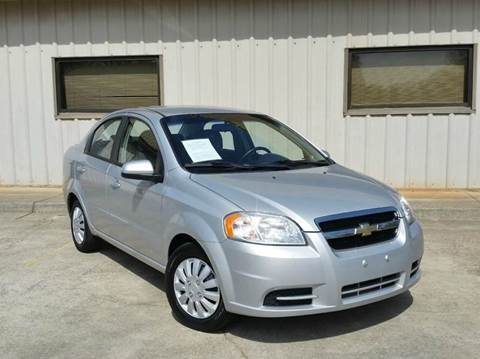 2010 Chevrolet Aveo for sale at M & A Motors LLC in Marietta GA