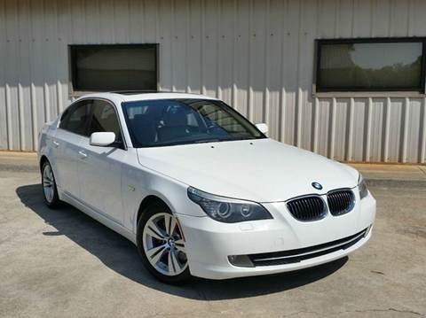 2009 BMW 5 Series for sale at M & A Motors LLC in Marietta GA