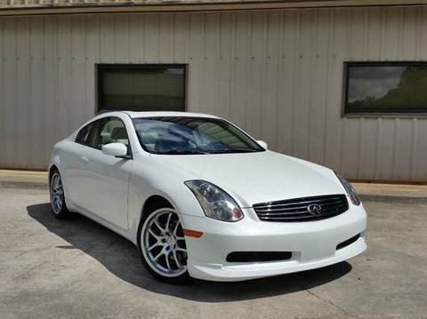 2005 Infiniti G35 for sale at M & A Motors LLC in Marietta GA