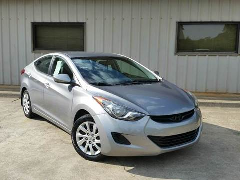 2012 Hyundai Elantra for sale at M & A Motors LLC in Marietta GA