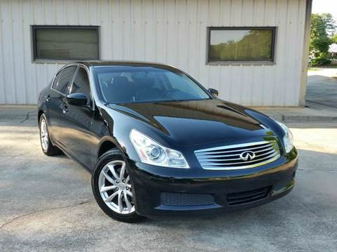 2009 Infiniti G37 Sedan for sale at M & A Motors LLC in Marietta GA