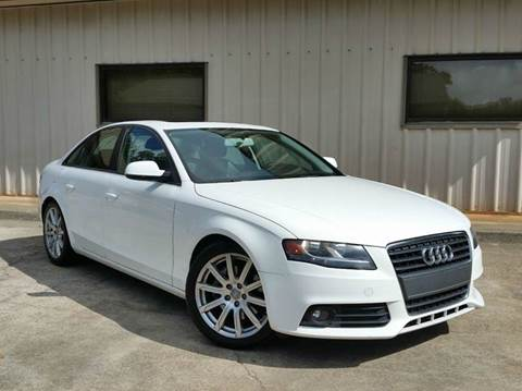 2010 Audi A4 for sale at M & A Motors LLC in Marietta GA