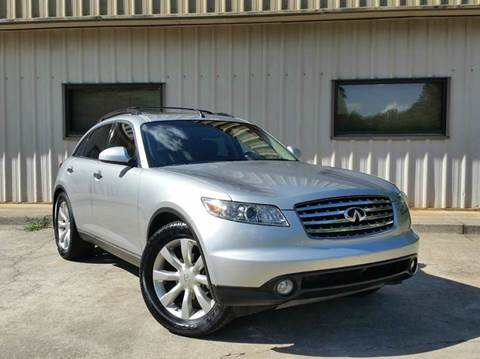2003 Infiniti FX35 for sale at M & A Motors LLC in Marietta GA