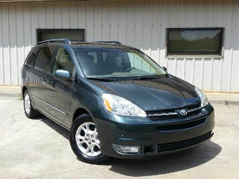 2005 Toyota Sienna for sale at M & A Motors LLC in Marietta GA