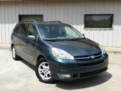 2005 Toyota Sienna for sale at M & A Motors LLC in Marietta GA