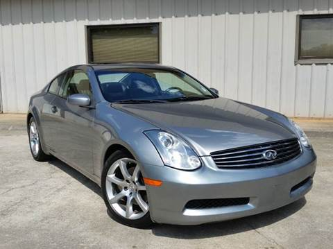 2006 Infiniti G35 for sale at M & A Motors LLC in Marietta GA