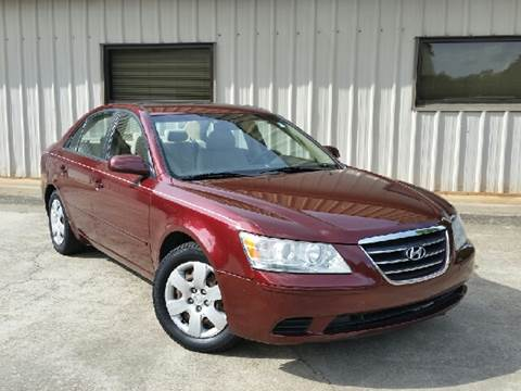2009 Hyundai Sonata for sale at M & A Motors LLC in Marietta GA