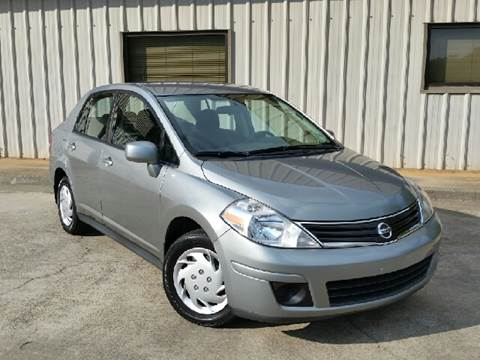 2010 Nissan Versa for sale at M & A Motors LLC in Marietta GA