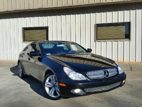 2009 Mercedes-Benz CLS for sale at M & A Motors LLC in Marietta GA