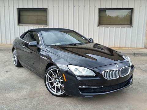 2012 BMW 6 Series for sale at M & A Motors LLC in Marietta GA
