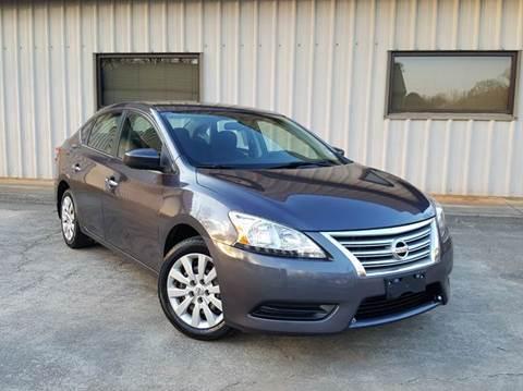 2013 Nissan Sentra for sale at M & A Motors LLC in Marietta GA