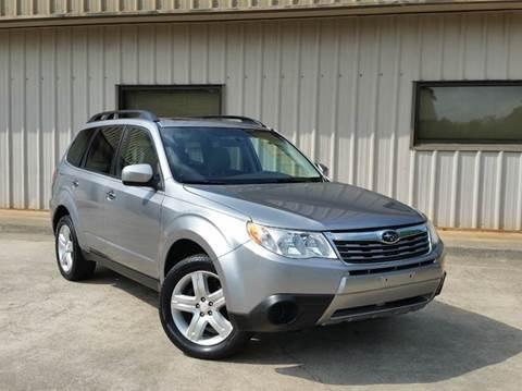 2010 Subaru Forester for sale at M & A Motors LLC in Marietta GA