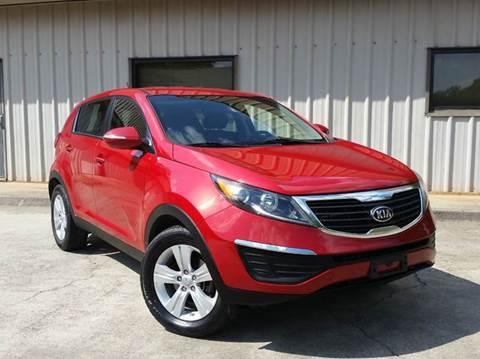 2013 Kia Sportage for sale at M & A Motors LLC in Marietta GA