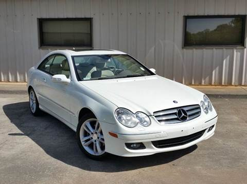 2008 Mercedes-Benz CLK for sale at M & A Motors LLC in Marietta GA