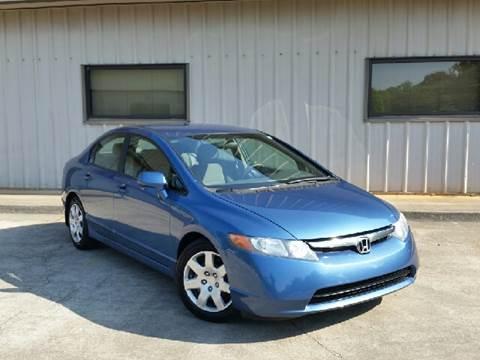 2006 Honda Civic for sale at M & A Motors LLC in Marietta GA