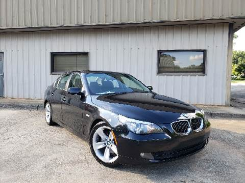 2008 BMW 5 Series for sale at M & A Motors LLC in Marietta GA