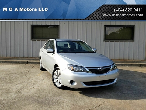 2009 Subaru Impreza for sale at M & A Motors LLC in Marietta GA