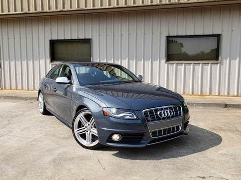 2010 Audi S4 for sale at M & A Motors LLC in Marietta GA
