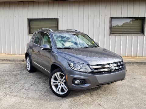 2012 Volkswagen Tiguan for sale at M & A Motors LLC in Marietta GA