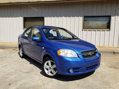 2008 Chevrolet Aveo for sale at M & A Motors LLC in Marietta GA
