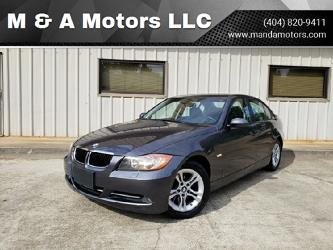 2008 BMW 3 Series for sale at M & A Motors LLC in Marietta GA