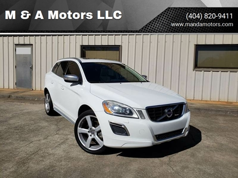2010 Volvo XC60 for sale at M & A Motors LLC in Marietta GA