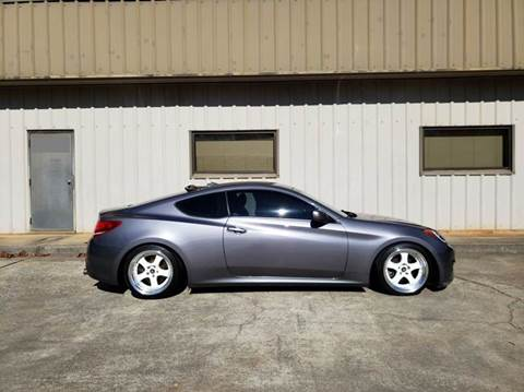 2012 Hyundai Genesis Coupe for sale at M & A Motors LLC in Marietta GA