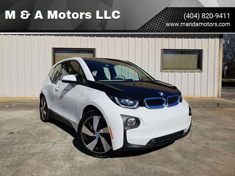 2014 BMW i3 for sale at M & A Motors LLC in Marietta GA