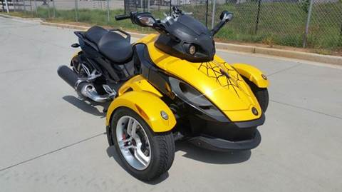 2008 Can-Am Spyder GS sms for sale at M & A Motors LLC in Marietta GA