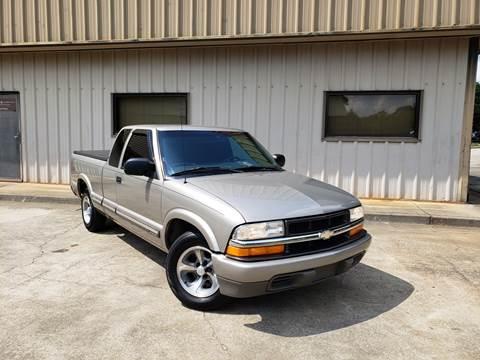 2001 Chevrolet S-10 for sale at M & A Motors LLC in Marietta GA
