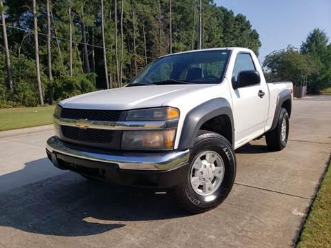 2006 Chevrolet Colorado for sale at M & A Motors LLC in Marietta GA