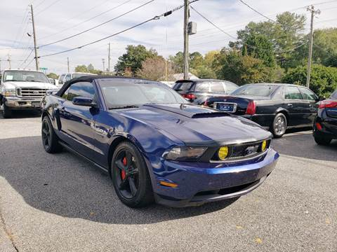 2012 Ford Mustang for sale at M & A Motors LLC in Marietta GA