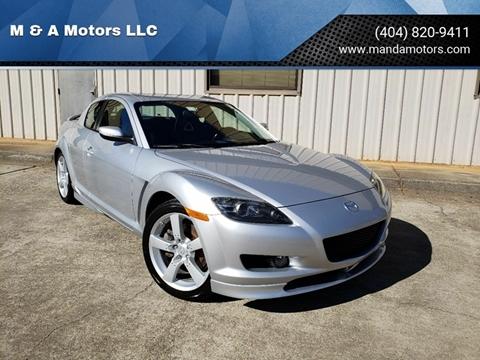 2004 Mazda RX-8 for sale at M & A Motors LLC in Marietta GA